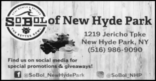 Sobol of New Hyde Park Advertisement