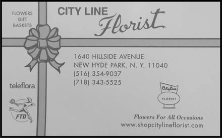 City Line Florist Advertisement