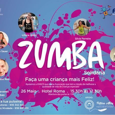 Evento Zumba Solidário Anace - Faça uma criança mais feliz!