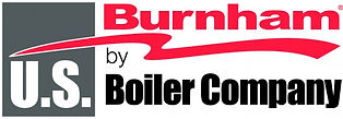 Burnham by US Boiler Company logo is what S Ferro plumbing and heating uses in many of their furnace and boiler instillations