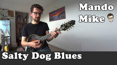Salty Dog Blues - The melody and adding Double Stops (Beginner & Intermediate)