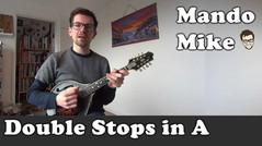 Double Stops in A (Beginner & Intermediate)
