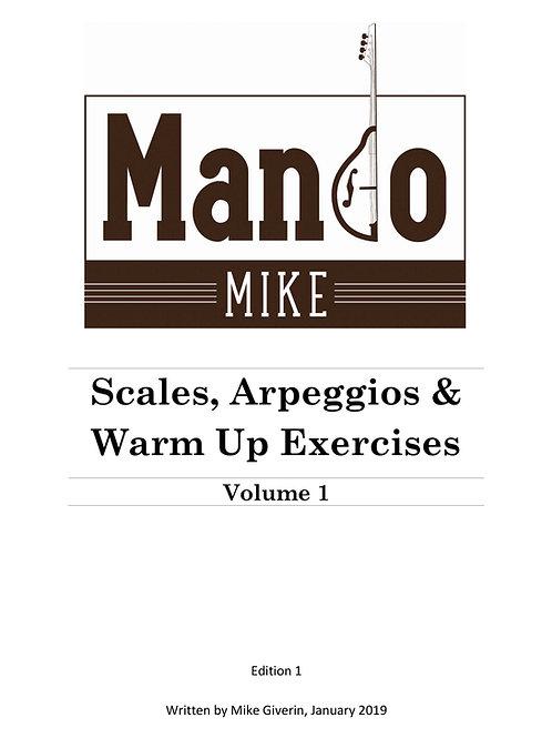 Scales, Arpeggios & Warm Up Exercises - Volume 1