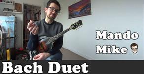 Bach Minuet - Duet for 2 mandolins (Beginner & Intermediate)