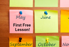 Free Monthly Lessons starting in May.