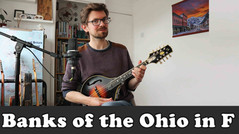 Banks of the Ohio - David Grisman version in F - Advanced