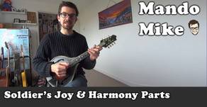 Soldier's Joy - The Melody & Writing Harmony parts (Beginner & Intermediate)