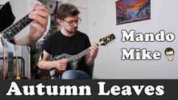Autumn Leaves - chord/melody arrangement - Advanced Mandolin