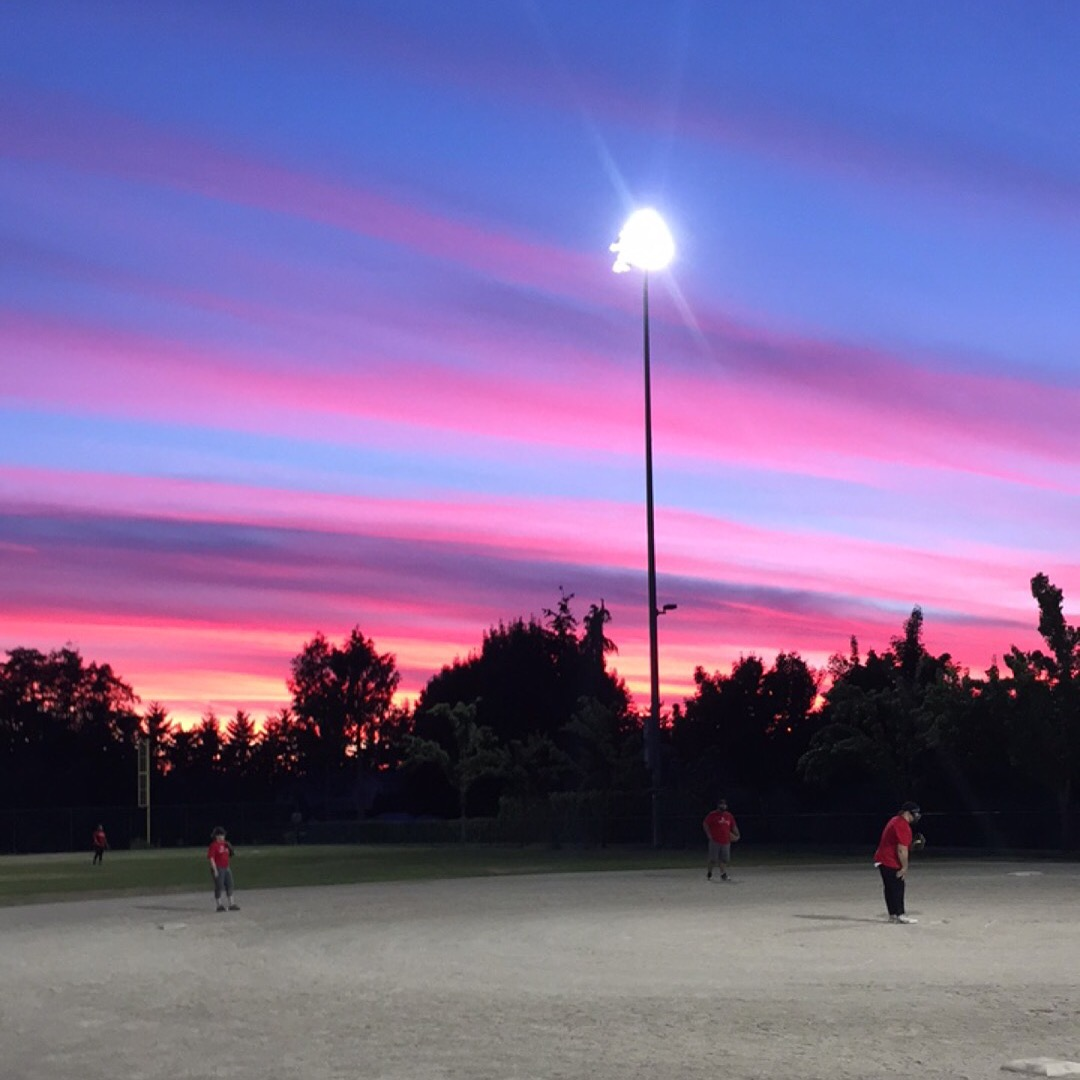 Softball Sunset