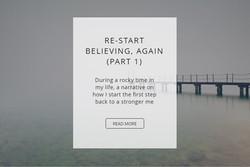 Re-Start Believing