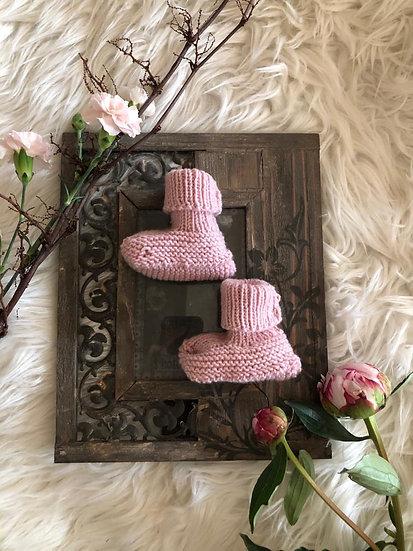 Baby Wollstrick Schuhe