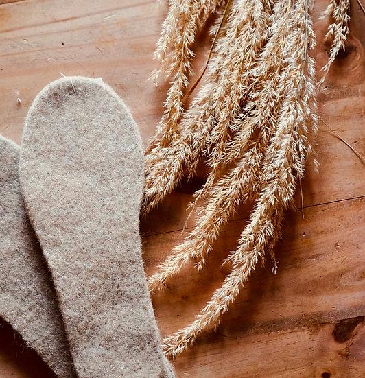 Alpaka Schuheinlagen aus dem Haspelwald