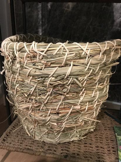 Gras Korb groß