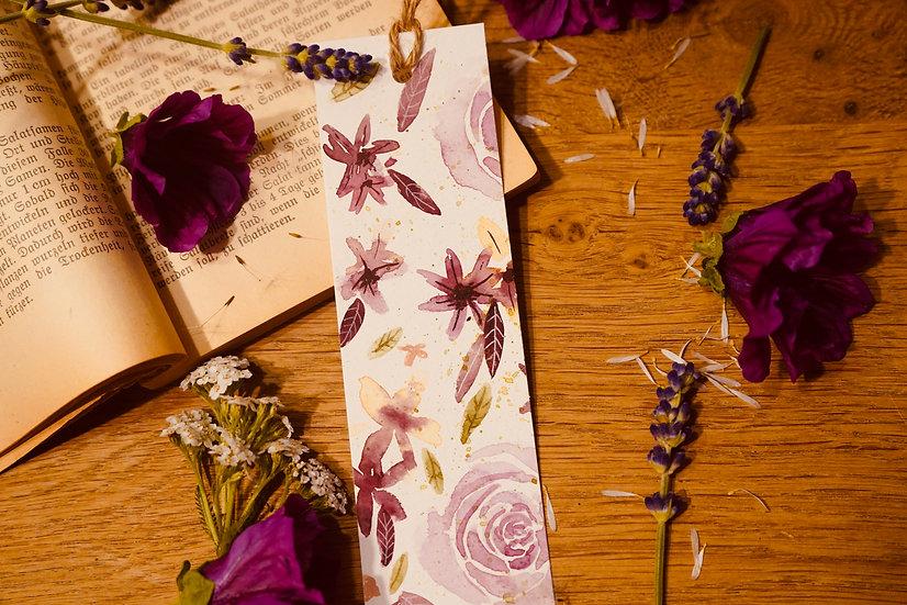 Lesezeichen Blütenliebe