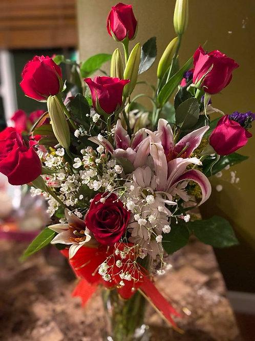 Bundle of Love Bouquet with Vase