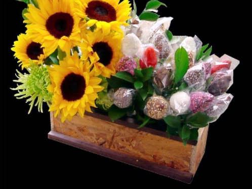 Sunflower box #2