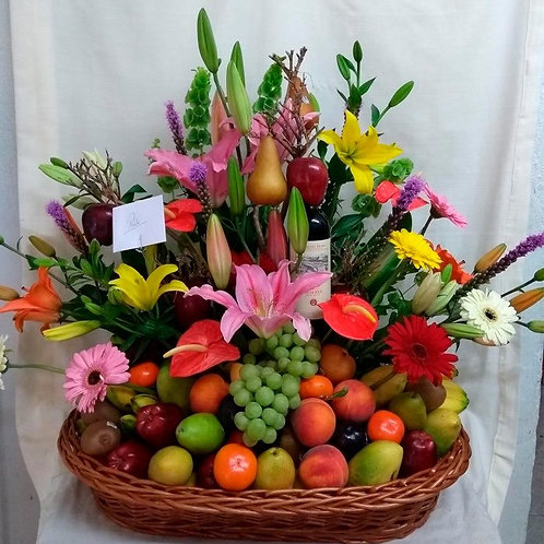 Mother's Day flowers with Fruits