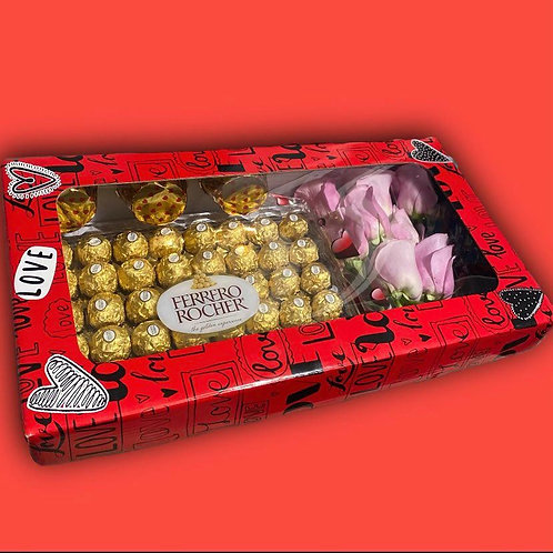 Ferrero Rocher Chocolate and Roses
