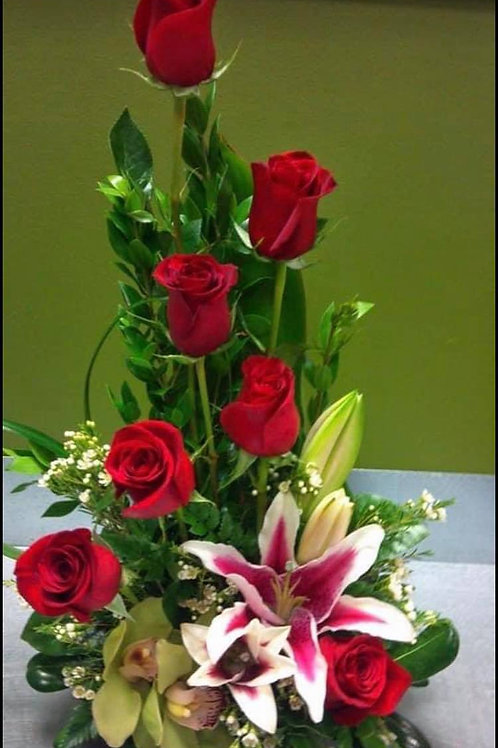 7 Red Roses