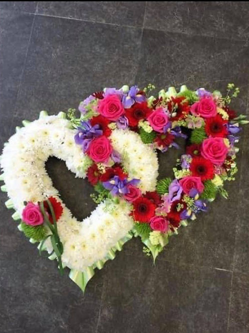 Double Heart Flower's