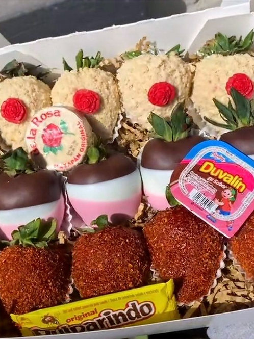 Strawberry mazapán/duvalin  /Tamarindo