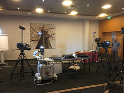 Medical 2 camera shoots