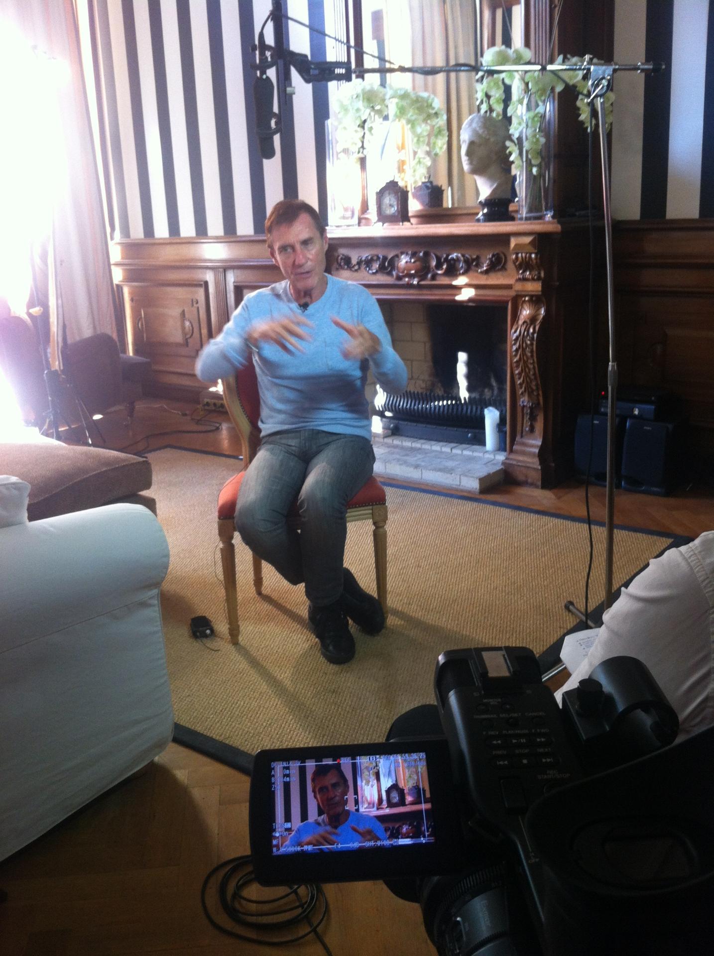 On location interviews