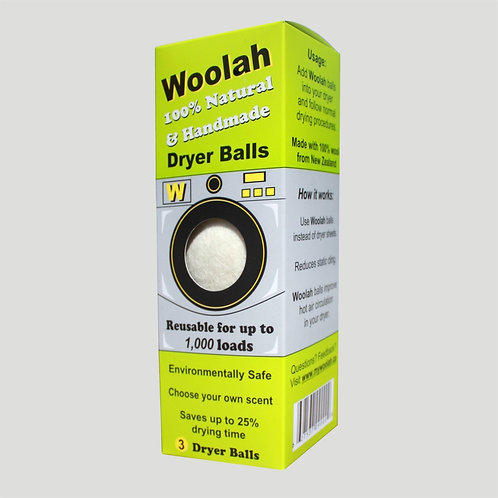 Woolah Dryer Balls - 2 BOXES