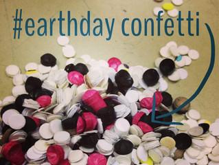 #EarthDay DIY confetti!
