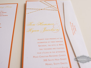 Wedding Invitation Spotlight