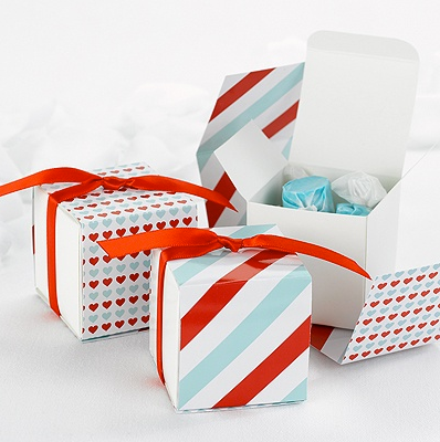 Reversible Hearts Wrap Boxes