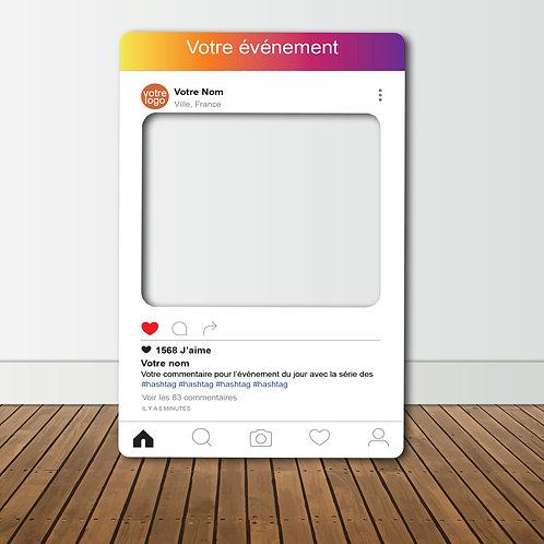 Cadre Photobooth Instagram Personnalisé
