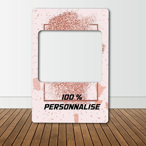 Cadre Photobooth 100 % Personnalisé