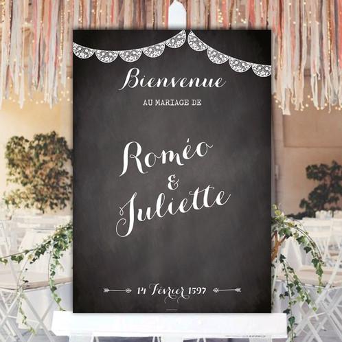 panneau de bienvenue mariage photocall event d cors photobooth personnalis s. Black Bedroom Furniture Sets. Home Design Ideas
