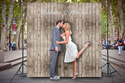 Mariage Rustique Madame & Monsieur