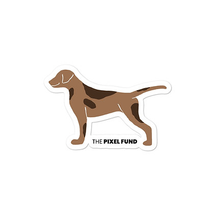Bubble-free stickers: Love Dogs