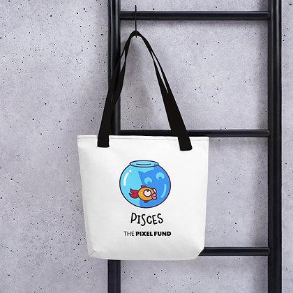 Tote bag: Pisces Cat