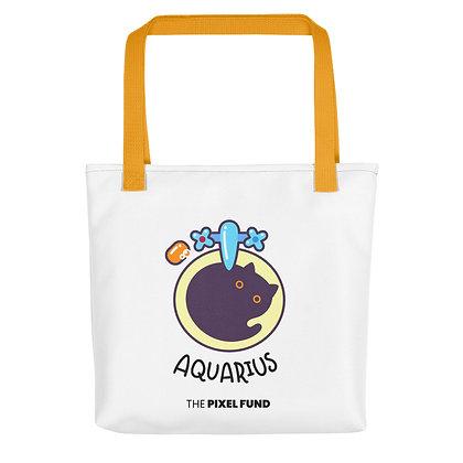 Tote bag: Aquarius Cat
