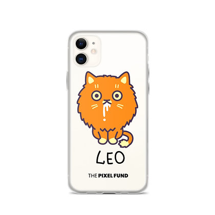 iPhone Case: Leo Cat