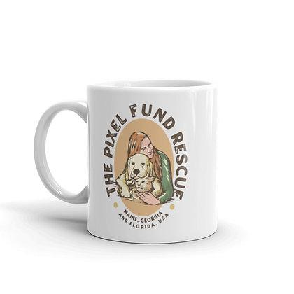 Pixel Fund: Vintage Logo Mug