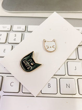 I love cats 2-pin Set