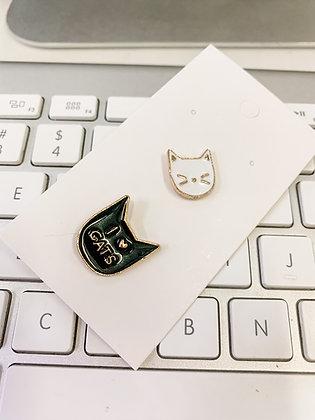 I love cats 2-pin Set