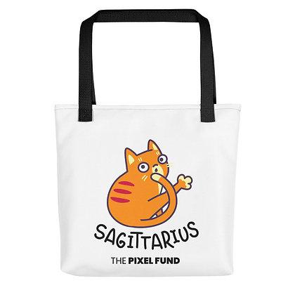 Tote bag: Sagittarius Cat
