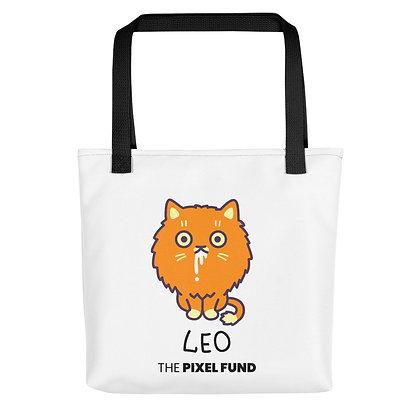 Tote bag: Leo Cat