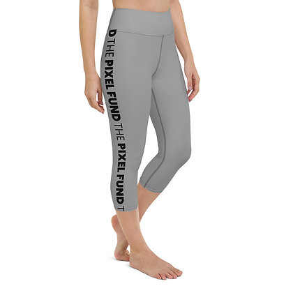 Graphic Vertical Yoga Capri Leggings