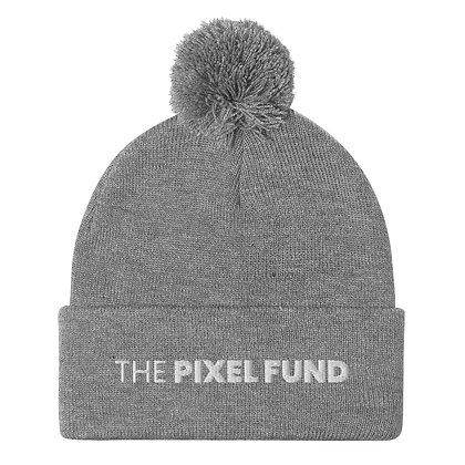 The Pixel Fund Pom-Pom Beanie