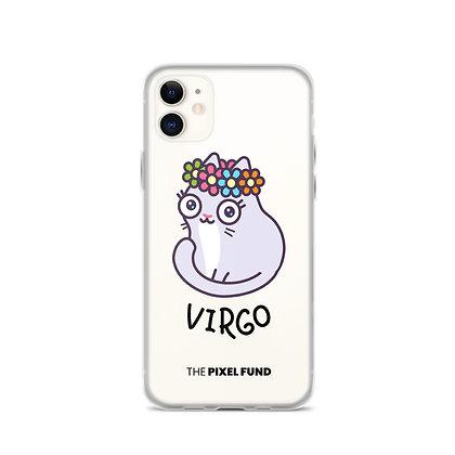 iPhone Case: Virgo Cat
