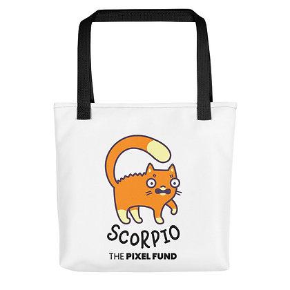 Tote bag: Scorpio Cat