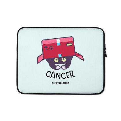 Laptop Sleeve: Cancer Cat
