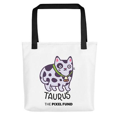 Tote bag: Taurus Cat
